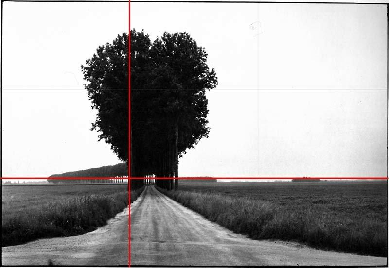 Composizione fotografica - HCB