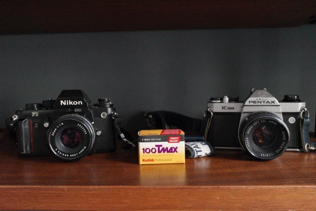 Nikon F3 - Pentax K1000